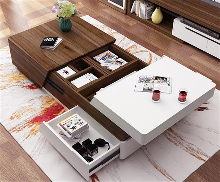 Mesa de café inteligente criativo design moderno