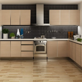 Tanzania Project L-shaped Kitchen Cabinets Factory Made In China ...