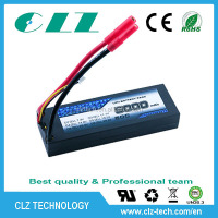 RC Hobby Radio Control Style li-polymer battery 50C 2S 7.4V 5000mah RC racing car battery