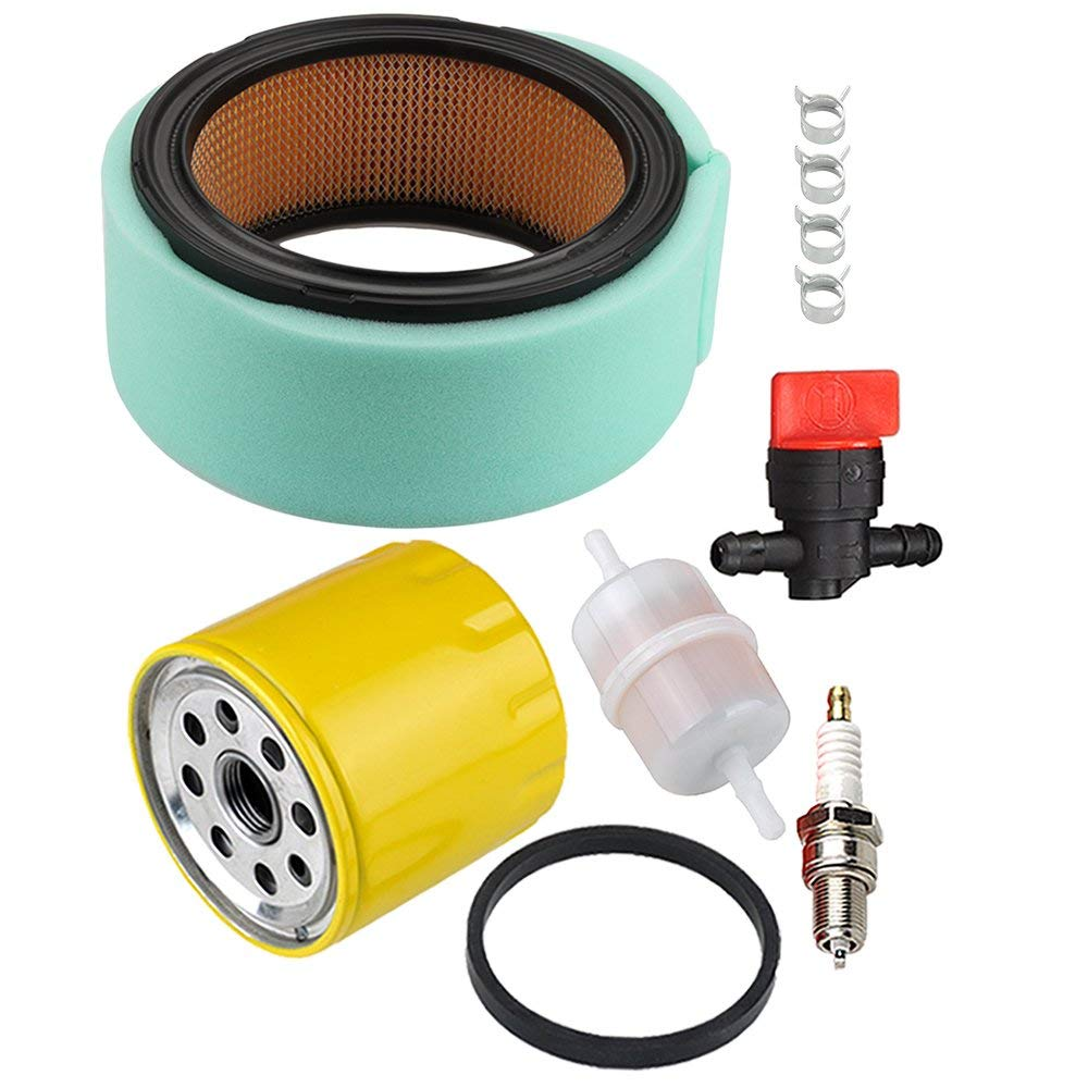 HIPA 24 083 03-S Air Filter 52 050 02-S Oil Filter Tune Up Kit for Kohler CH25 CH730 CH740 ECH749 CH23 CH640 CH680 ECH730 CH20 CV730 CH22 CV25 18HP - 25HP OHV Engine