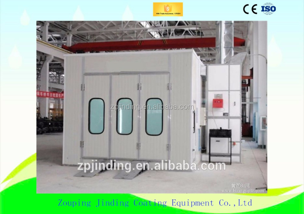 Auto / Furniture Enclosed Finishing Paint Booth - Buy Enclosed ...