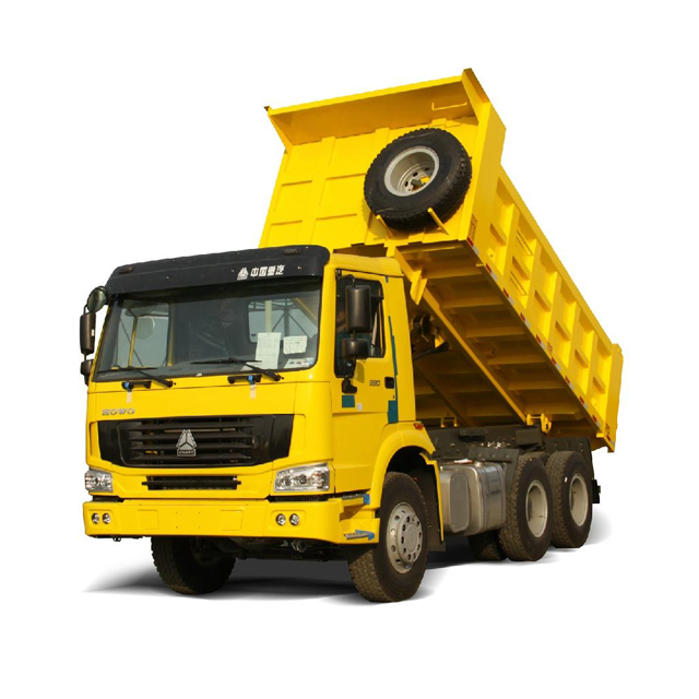 Sinotruk 6x4 Howo used rc Dump Truck for Sale in Russia
