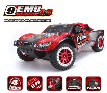 9EMU 1025 1/10 스케일 전기 4WD 2.4 천헤르쯔 RC OFF-ROAD 브러시