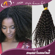 Best Selling Hair Products 100% 7A Virgin brazilian Hair /Kinky Curly human hair extensions