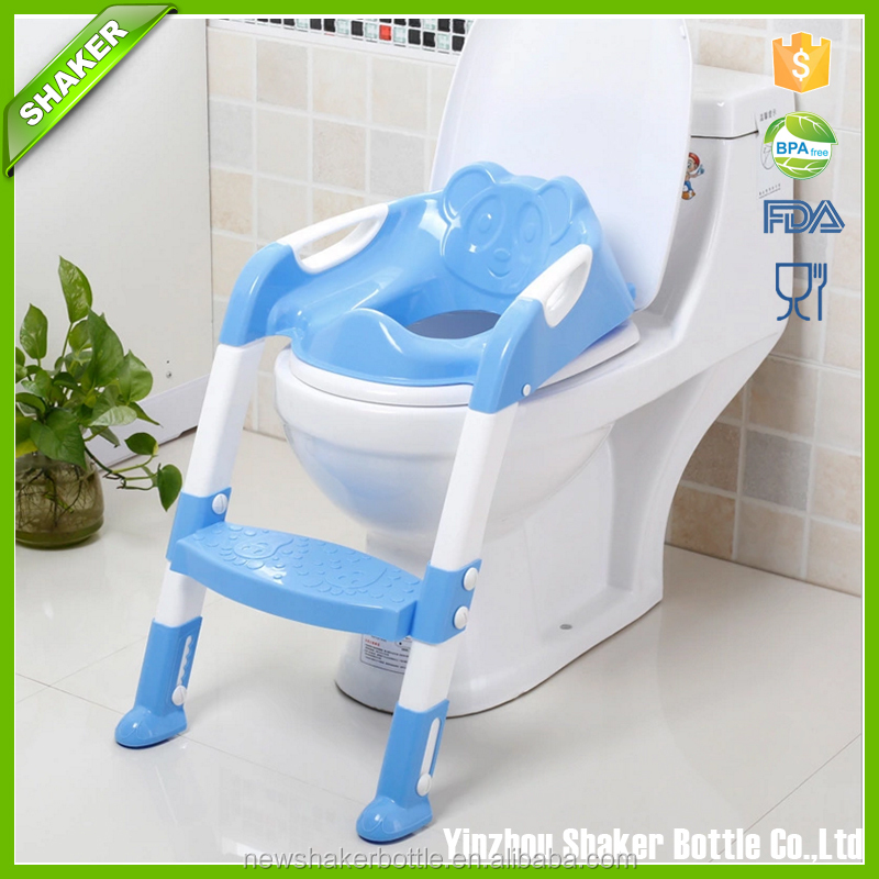 Ostrich Toilet Step Trainer Ladder for Kid and Baby, Children's Toilet Seat Chair, Toddlers Toilet Training Step Stool