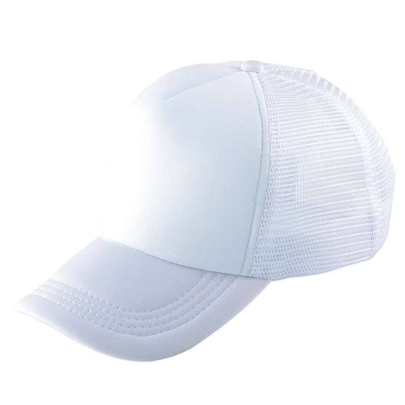 Sublimation Blanks Trucker <strong>Hat</strong> Advertising Custom Adult Cotton Baseball Mesh Cap <strong>Hat</strong> for Sublimation Printing