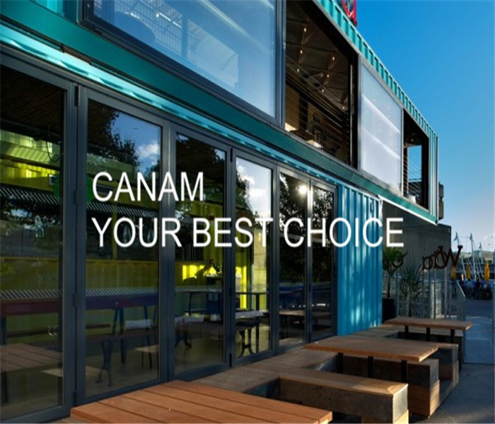 container restaurant designs with exquisite durable low cost