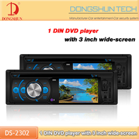 universal player car stereo dvd cd player with bluetooth
