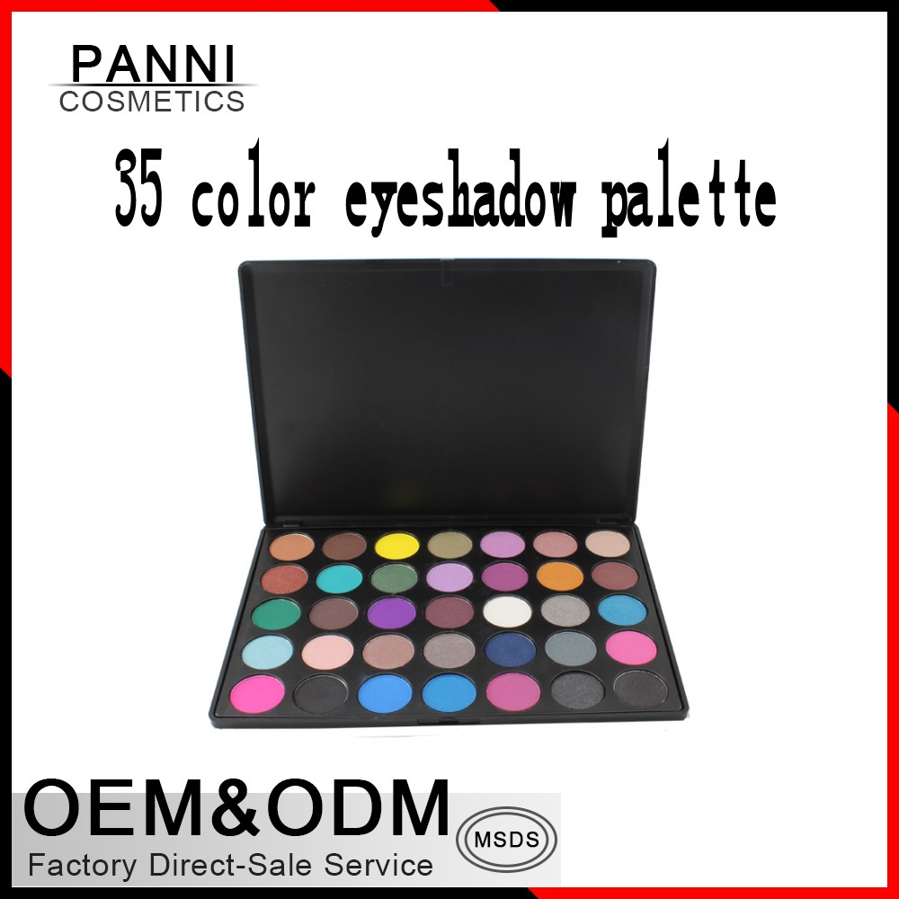 High quality best selling 35 color eyeshadow palette