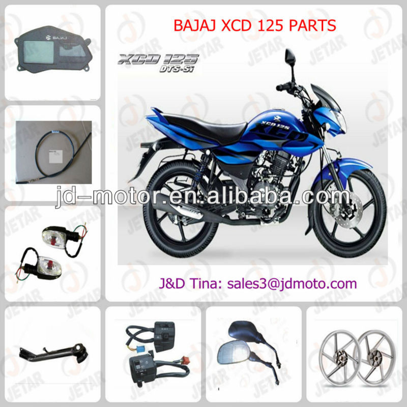 spare parts for BAJAJ XCD 125