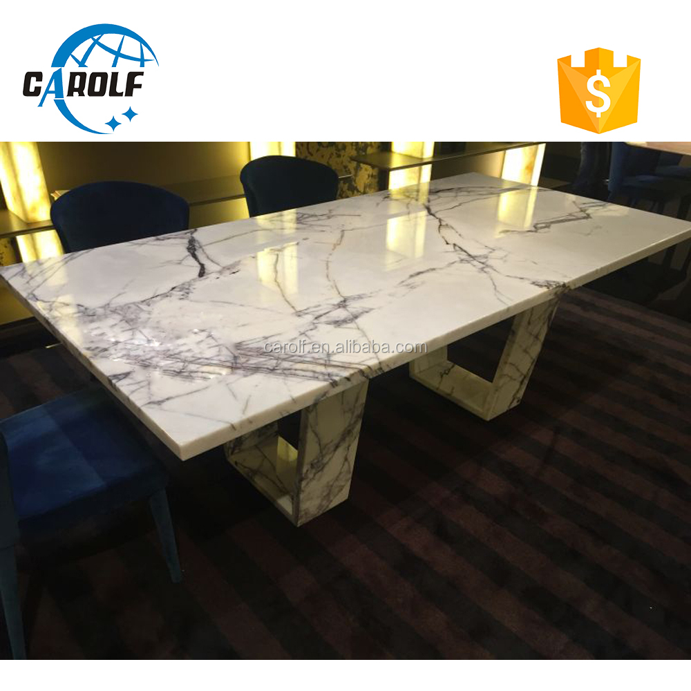 used dining room furniture marble dinning table set
