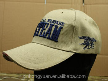 custom American seal team military tactical baseball caps with embroidery  words 823f15c7410