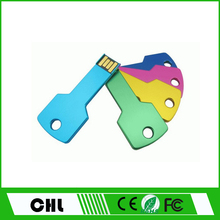 CS03 High quality most hottest cheapest Wholesale Metal Key 2GB USB Flash Memory