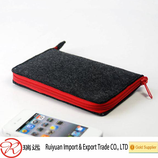 Alibaba China high quality felt cell phone case for wholesale