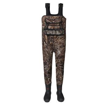 China factory camo neoprene chest fishing hunting waders duck hunting waders