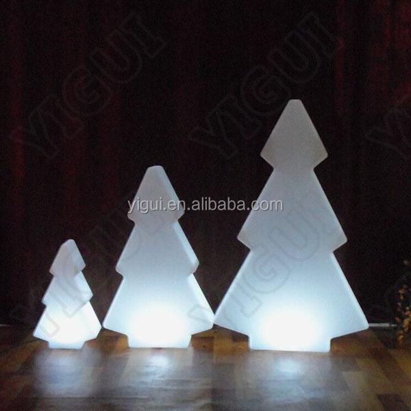 de color rgb recargable light lmpara de rboles de navidad