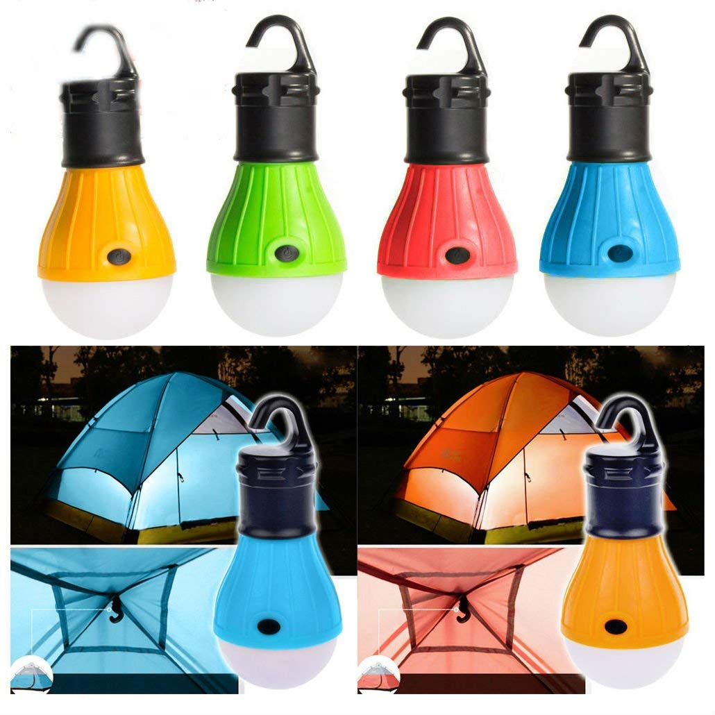 Emergency Lamp Tent Light Lantern LED Portable w/ Hook Outdoor Camping Hiking