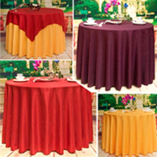 polyester wedding restaurant banquet meeting plain table cloth