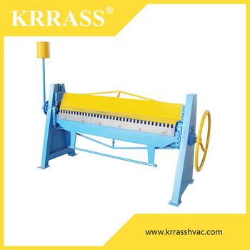 Harsle duct working used sheet metal manual folding machine with.