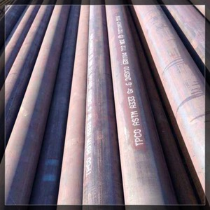 TPCO brand low temperature carbon steel pipe A333 Gr6 NACE SOUR for sales