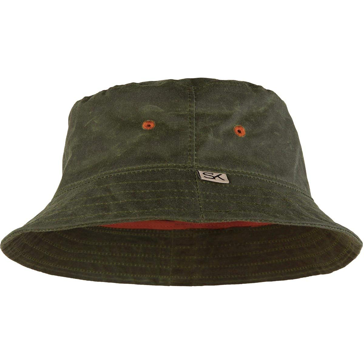 92e351b7977ad7 Get Quotations · Stormy Kromer The Waxed Bucket Hat, Color: Olive  (51130-050-415
