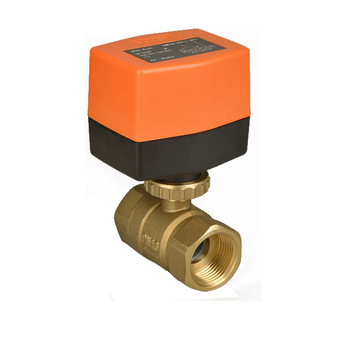 Winner HVAC System WRA-63 Electric Actuator Brass Ball Valve 2 Way DN20 motorized Ball Valve for Fan Coil Units