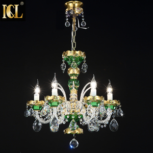 Large luxury modern hanging fixture bronze gold pendant 6 8 12 lights crystal chandelier