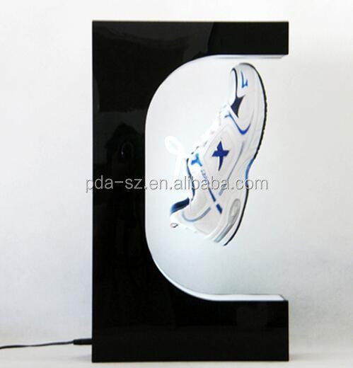 China manufacture Best Selling business levitation shoes display rack
