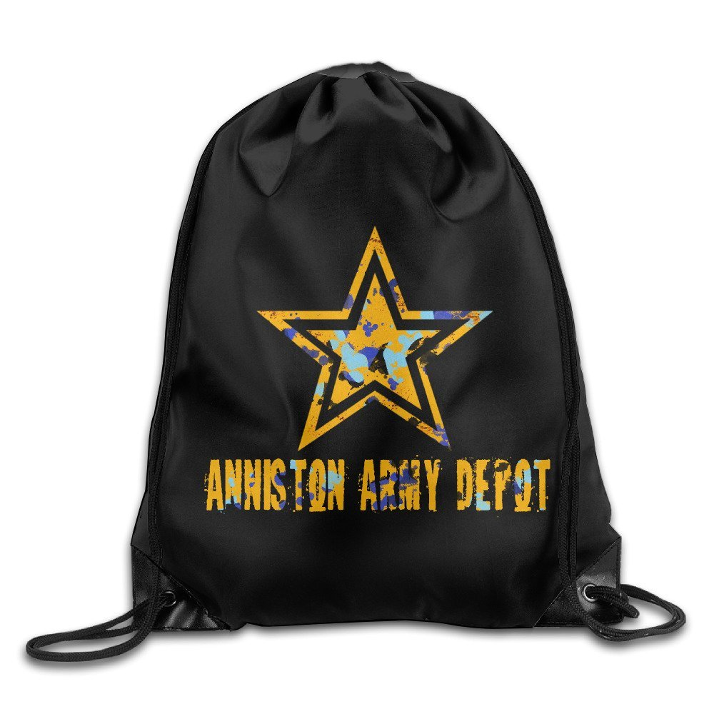 Get Quotations Anniston Army Depot Drawstring Tote Backpack Bag