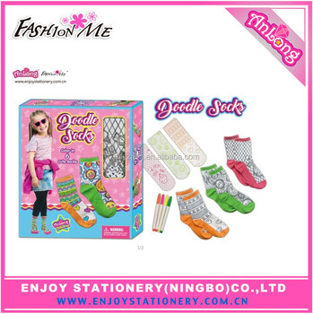 Doodle and Make Your Own Socks