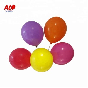 Round Shaped Wedding Party Pearl Metallic Colour Helium Jumbo Latex Balloons