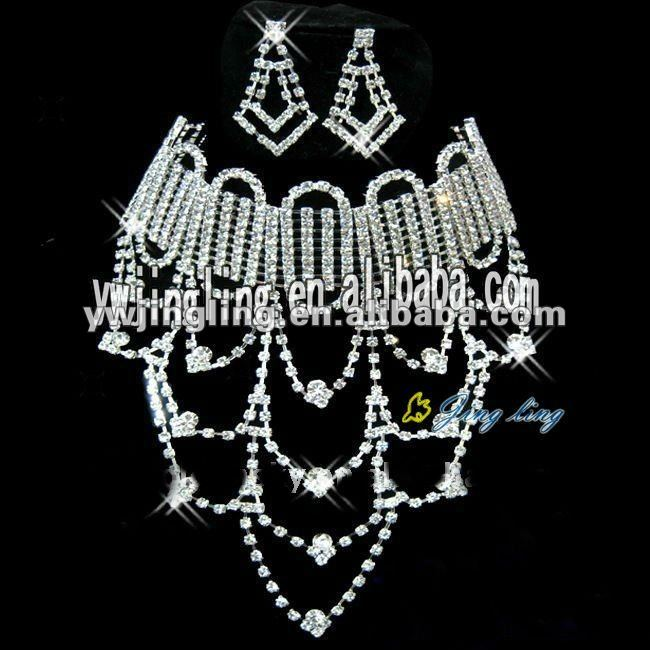 2012 hot fashion diamond jewelry set or sale