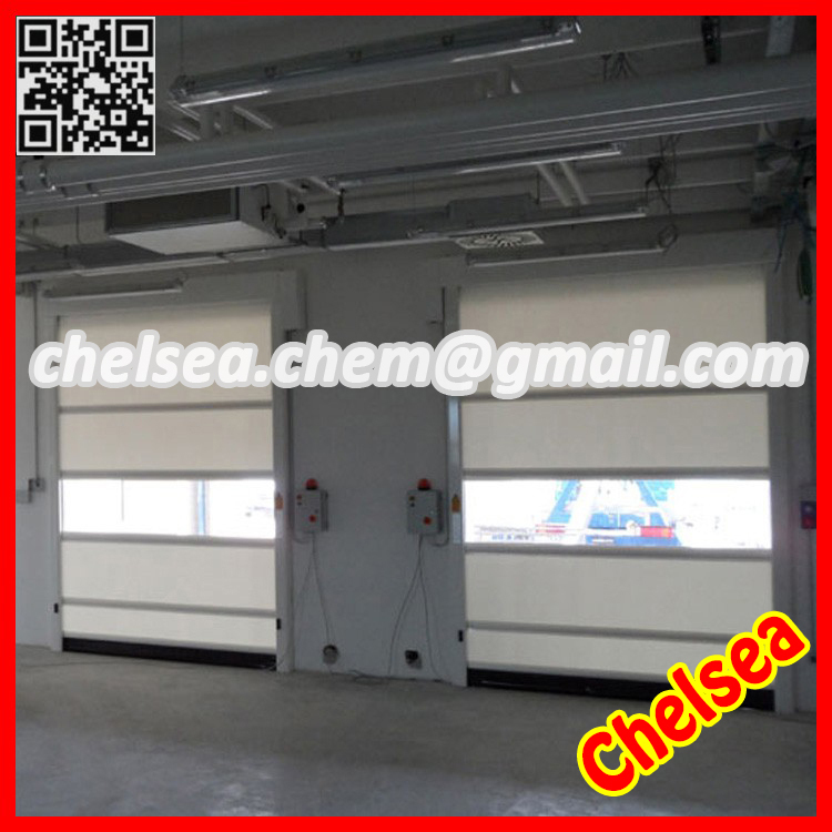 Industrial high speed stacking automatic doors