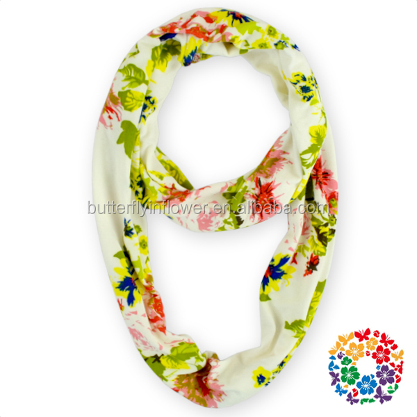 2015 New Fashion Design Flower Printed Scrafs,Wholesale Price Cheap Winter Scarves For Girls Ladies
