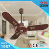 QIJUN 36 inch National Ceiling Fan with High RPM Golden Decoration Light Weight Ceiling Fan