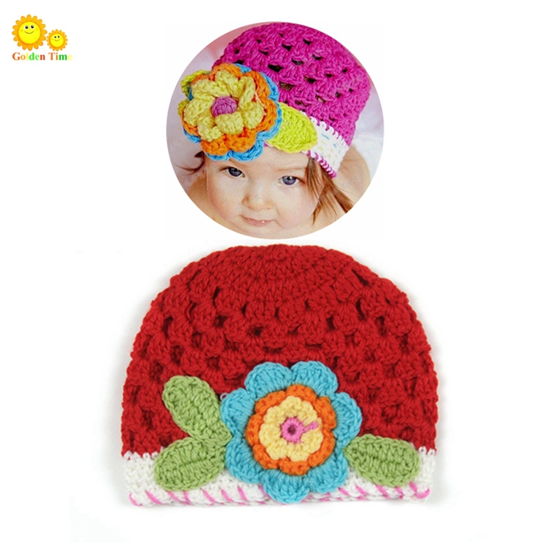6280be62865 Get Quotations · 2015 floral baby hats Handmade girl hat newborn  photography props newborn hat ganchillo crochet baby bonnet