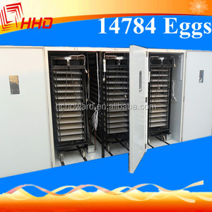 HHD big size egg hatchery machine automatic ostrich incubator for export