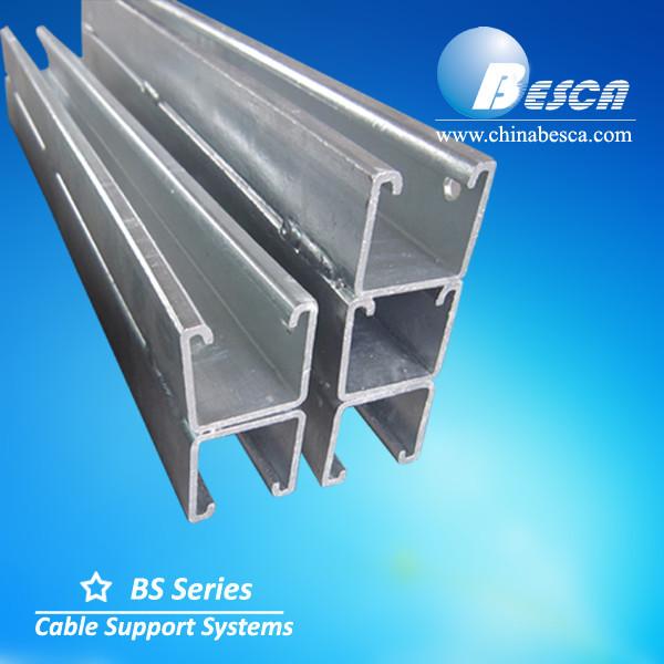 Double U Channel : Back to steel strut channel u ul certified