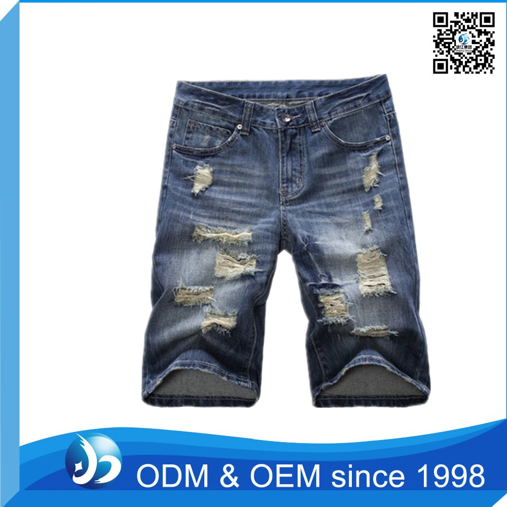 Factory Price Half Pants Jeans Men Wholesale Direct Factory