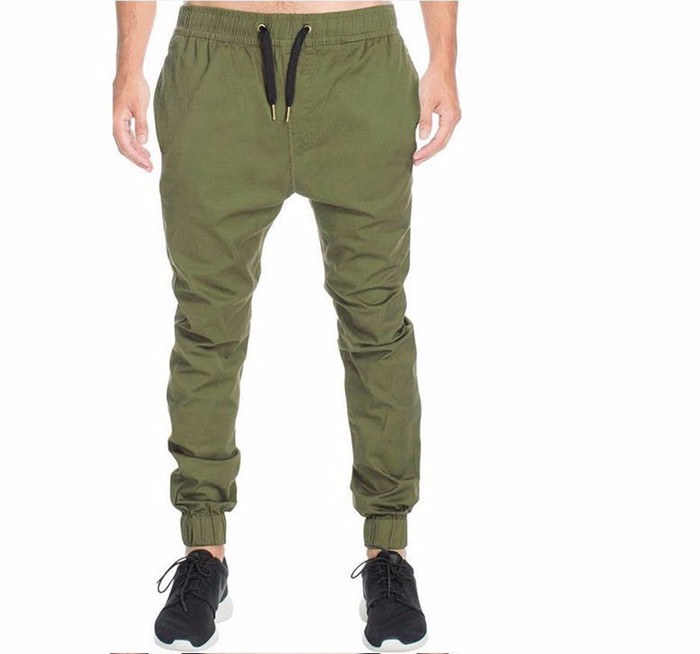 Baggy Joggingbroek Mannen.Groothandel Mannen Twill Chino Cargo Baggy Joggingbroek Slim Fit