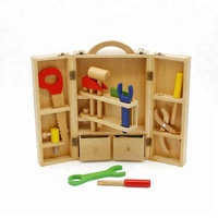 New hottest educational play wooden mini tool set toy for kids W03D008