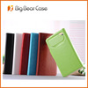 PU leather flip for lenovo a390 a390t leather case