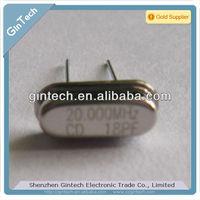 quartz crystal oscillator HC49/S 20.000mHz 18PF