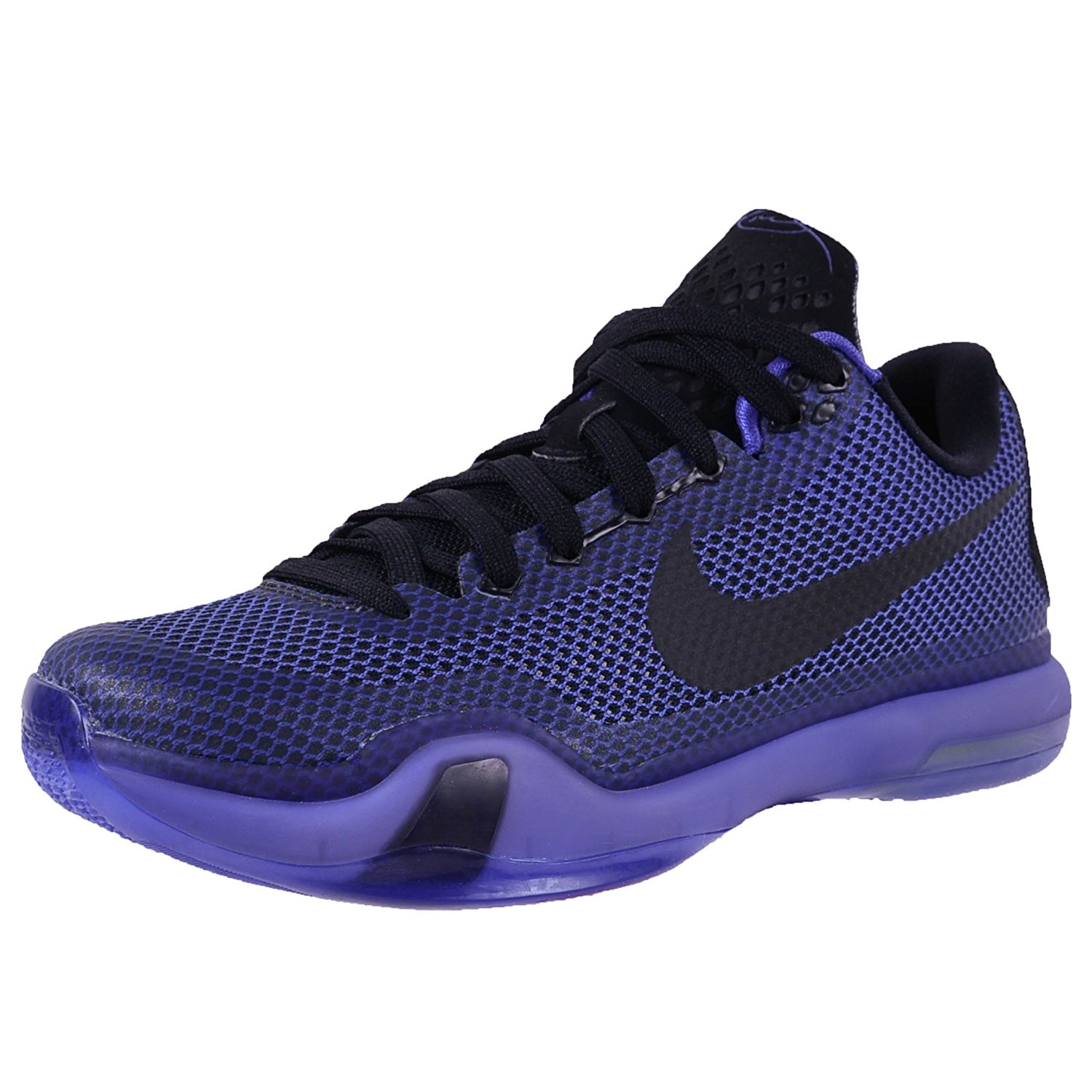 902ee8133a28 Buy NIKE KOBE X BLACKOUT BASKETBALL SHOES BLACK BLACK PERSIAN VIOLET 705317  005 in Cheap Price on m.alibaba.com