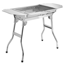 2019 del commercio all'ingrosso OEM Made in China in acciaio inox fold esterna barbecue del <span class=keywords><strong>carbone</strong></span> di legna barbecue grill Adatto per 3-5 persone