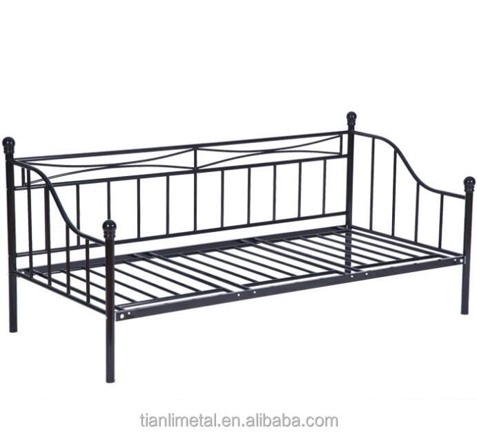 Metal Frame Sofa Bed With Futon Supplieranufacturers At Alibaba Com