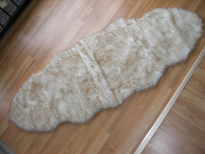 Factory Pure White Faux Fur Rugs