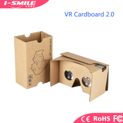 2018 New 3d video glasses virtual reality with headstrap google cardboard v2 3d vr glasses virtual reality headset
