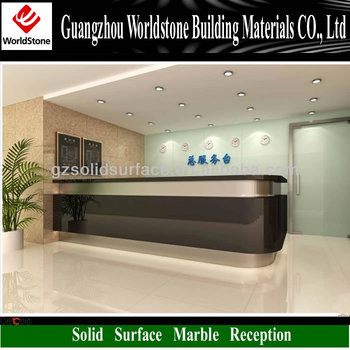 Modern Design Hotel Reception Counter Table Reception Furniture