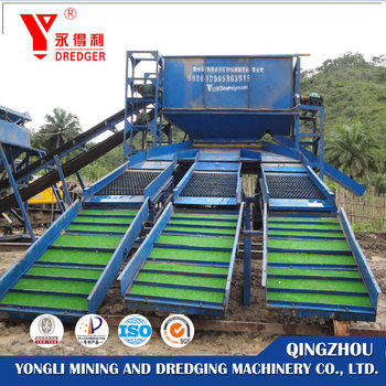 Small Gold Trommel Wash Plant For Gold Separating For Sale